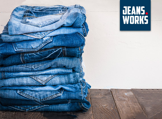 over jeans works perfect fit